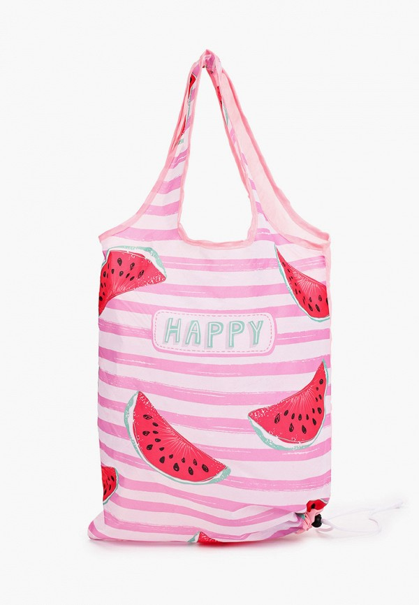 женская пляжные сумка fabretti, розовая