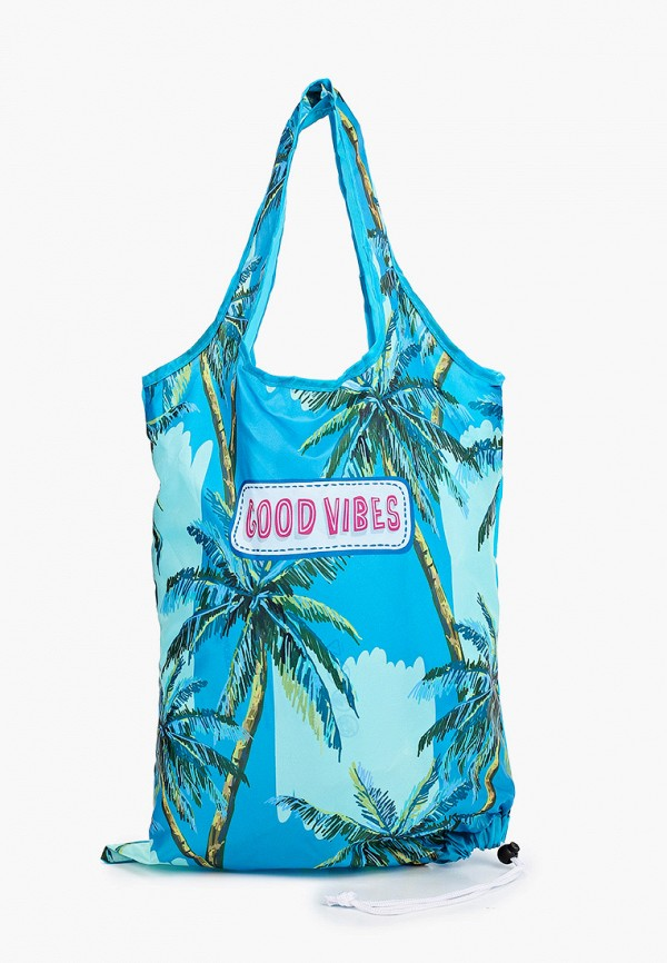 женская пляжные сумка fabretti, бирюзовая
