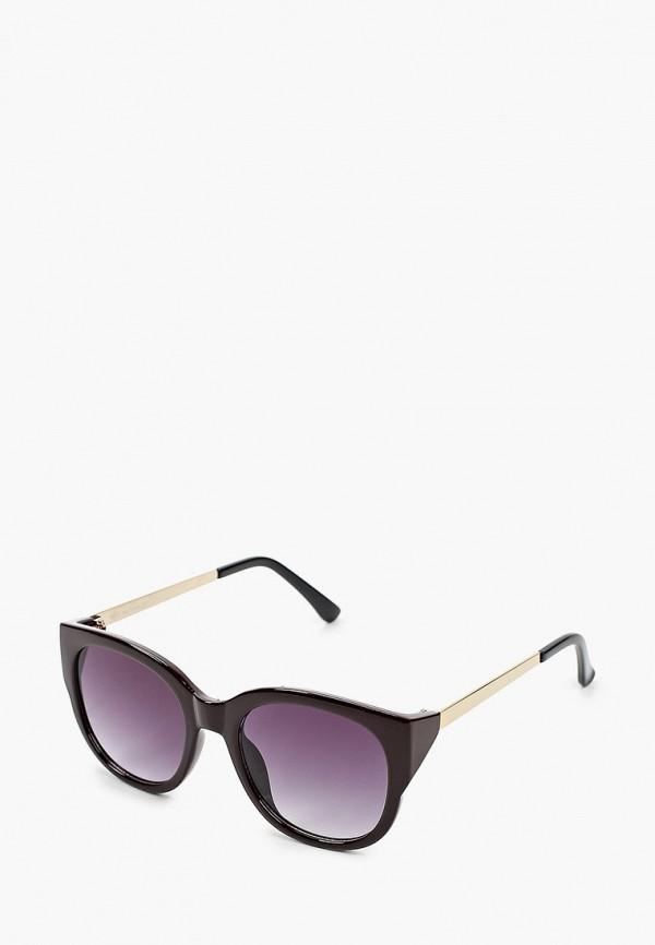 женские круглые солнцезащитные очки fabretti, коричневые