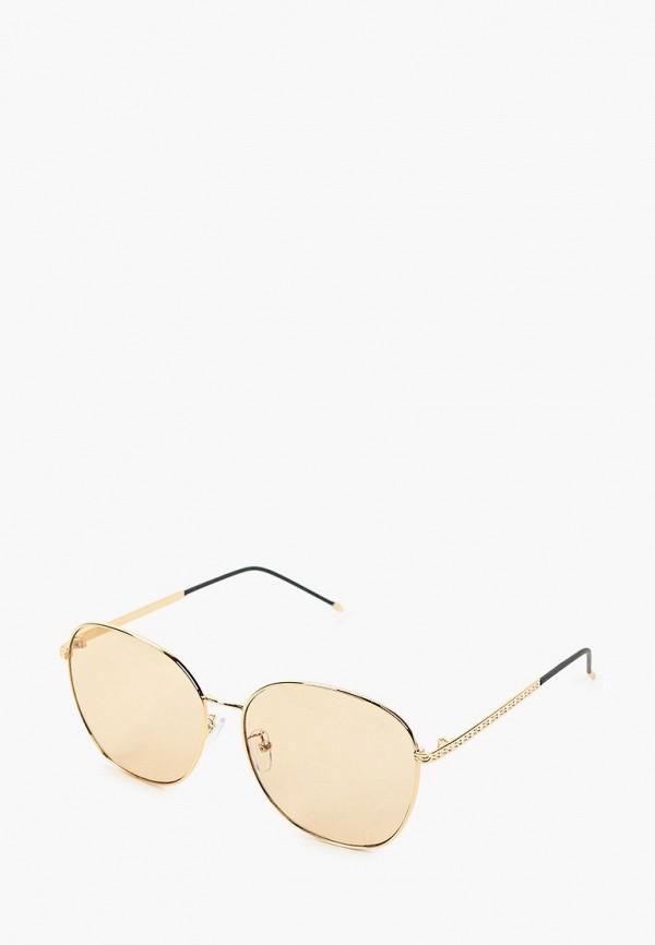 женские авиаторы солнцезащитные очки fabretti, золотые
