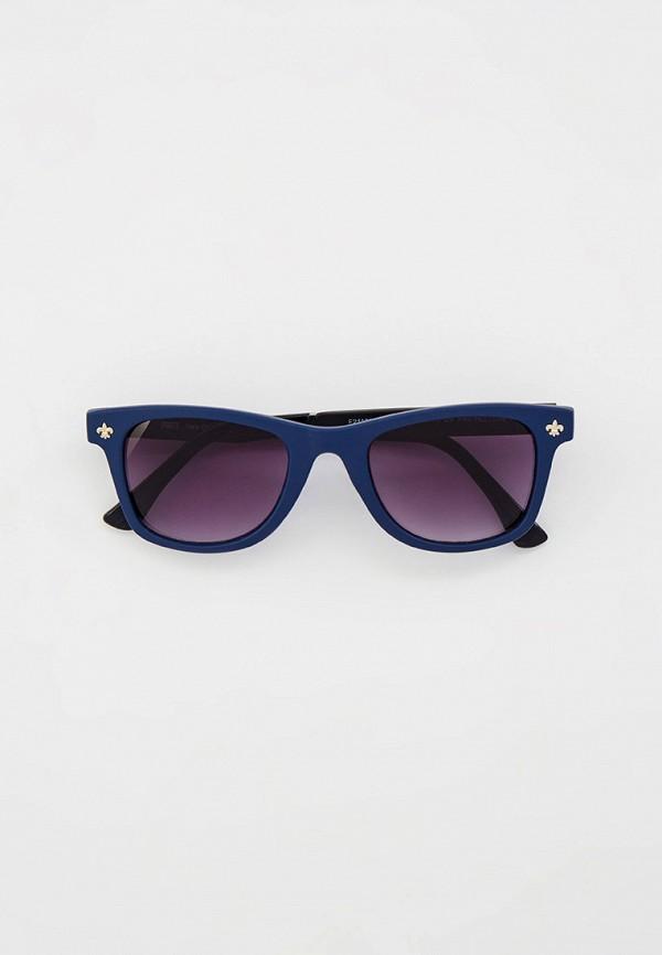 Очки солнцезащитные Fabretti синего цвета