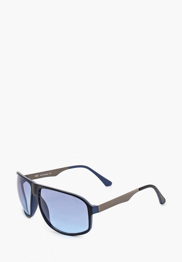 женские авиаторы солнцезащитные очки fabretti, синие