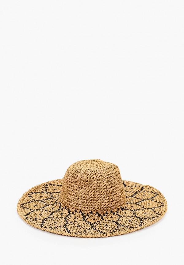 женская шляпа fabretti, коричневая