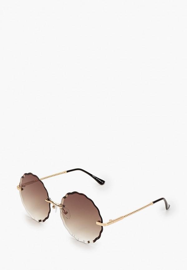 женские солнцезащитные очки fabretti, золотые