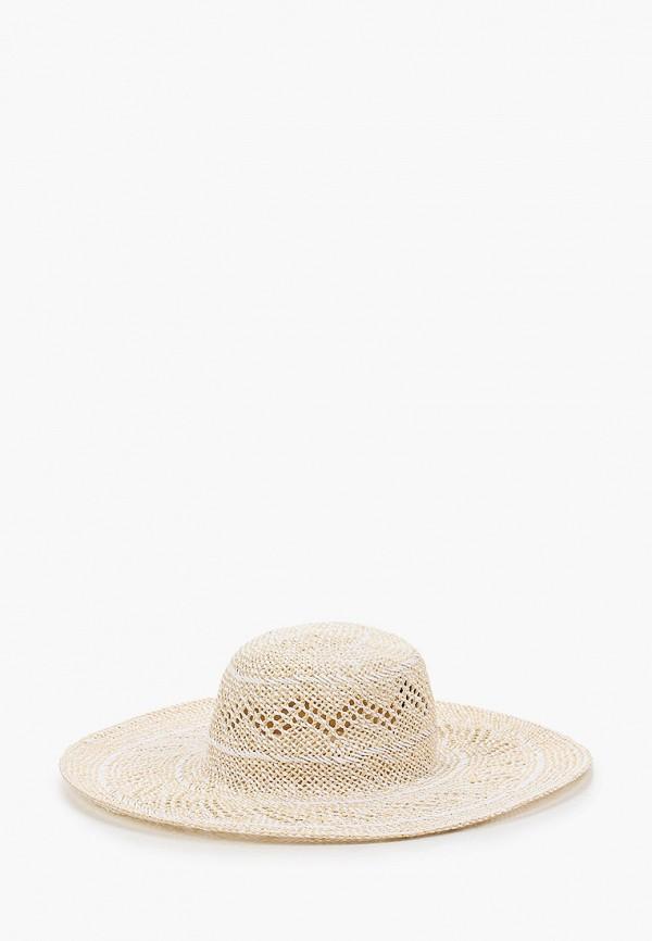 женская шляпа fabretti, бежевая