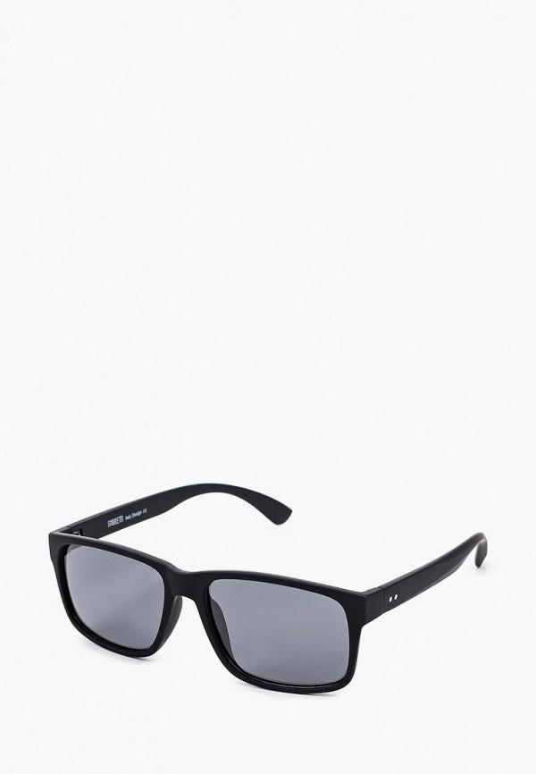 мужские квадратные солнцезащитные очки fabretti, черные