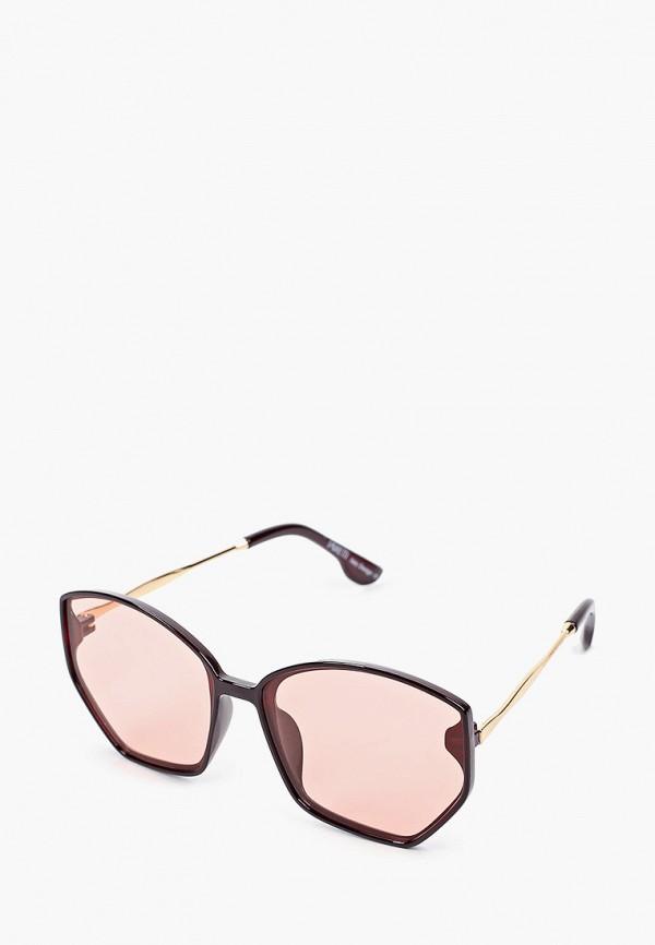 женские солнцезащитные очки fabretti, бордовые