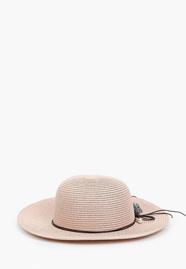 женская шляпа fabretti, розовая