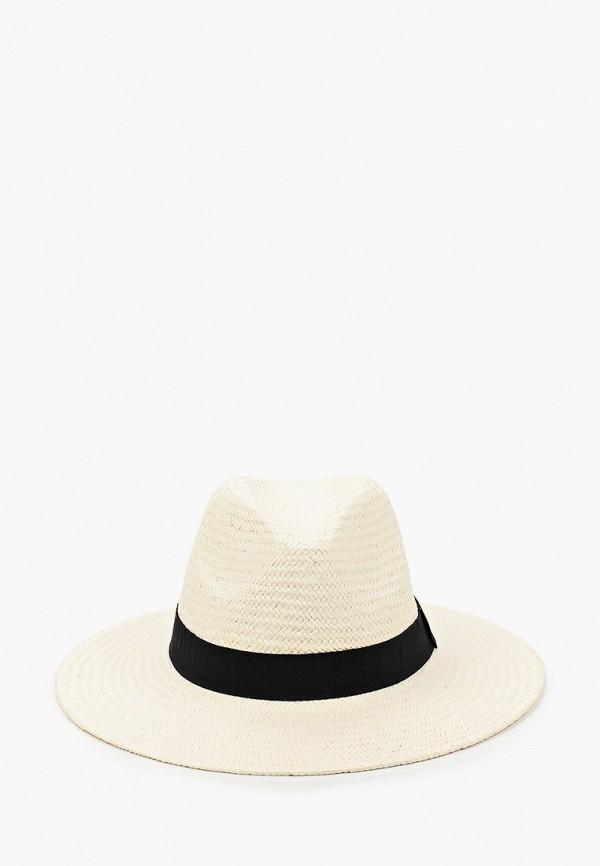 женская шапка fabretti, белая