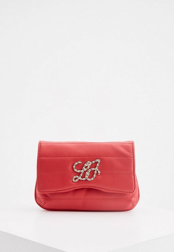женская поясные сумка liu jo, красная
