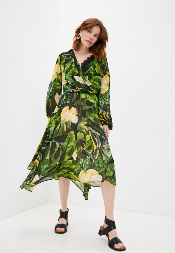 женское повседневные платье liu jo, зеленое