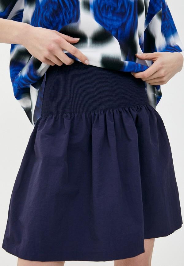 женская юбка kenzo, синяя