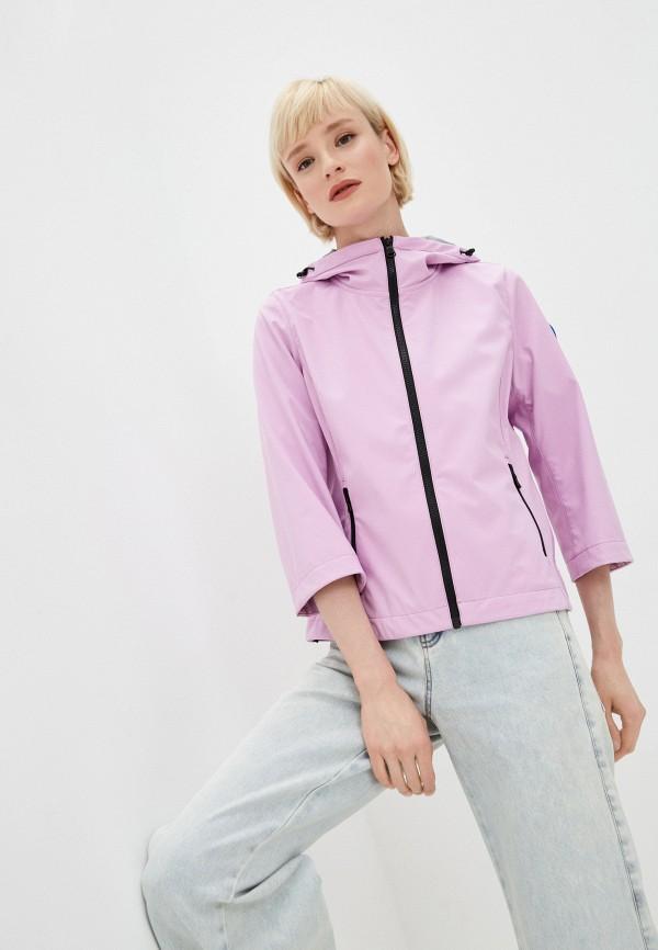 женская ветровка colmar, фиолетовая