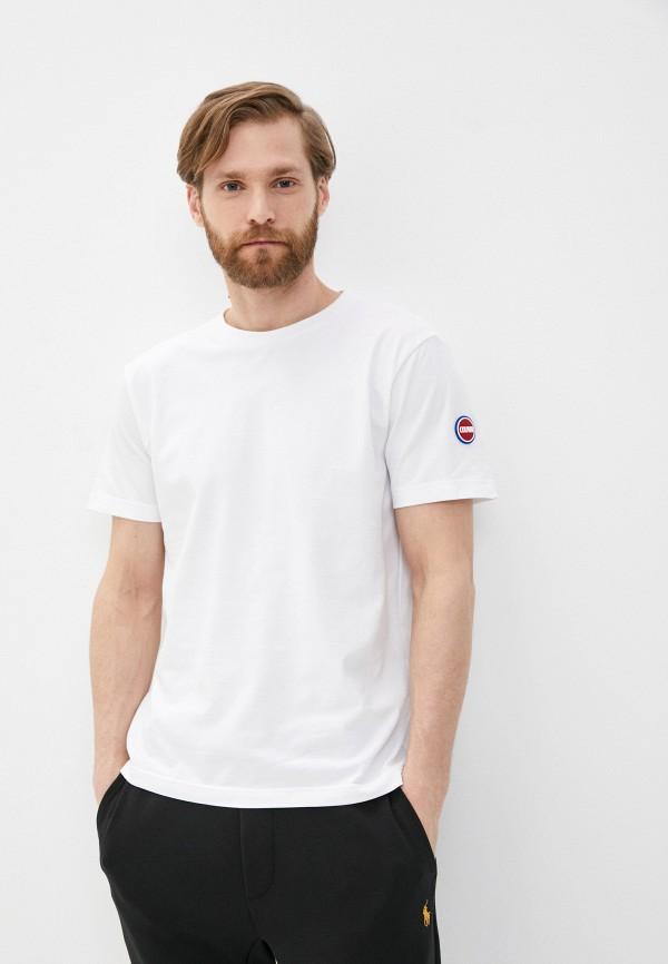 мужская футболка colmar, белая