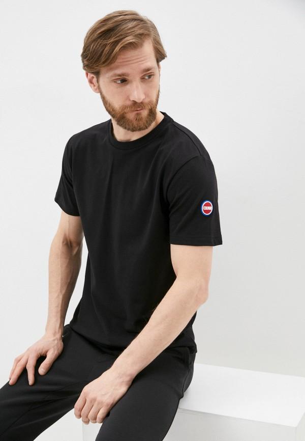 мужская футболка colmar, черная