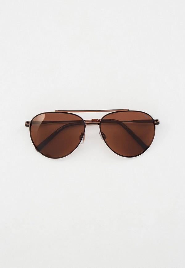 мужские солнцезащитные очки invu, коричневые