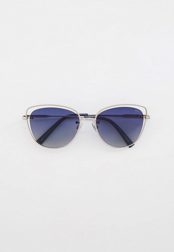 женские солнцезащитные очки invu, серебряные
