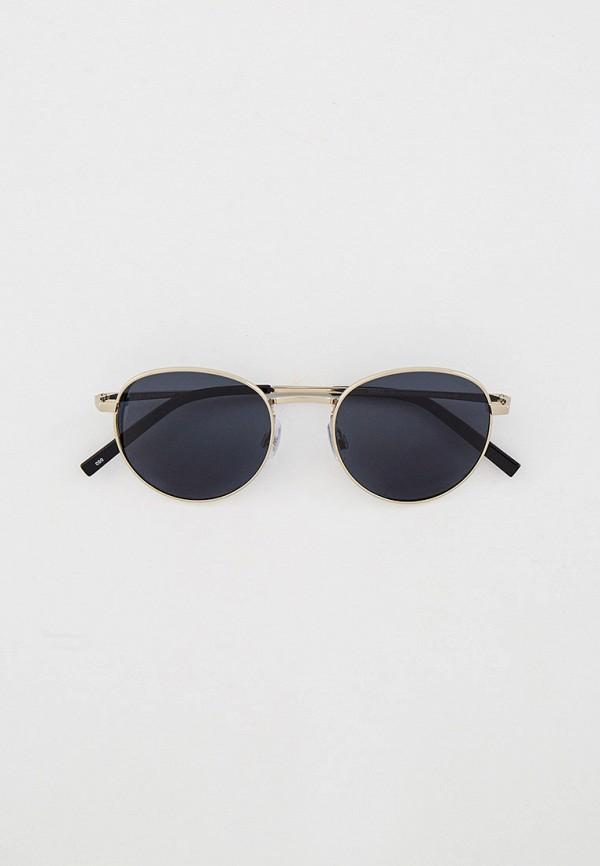 женские круглые солнцезащитные очки invu, серебряные