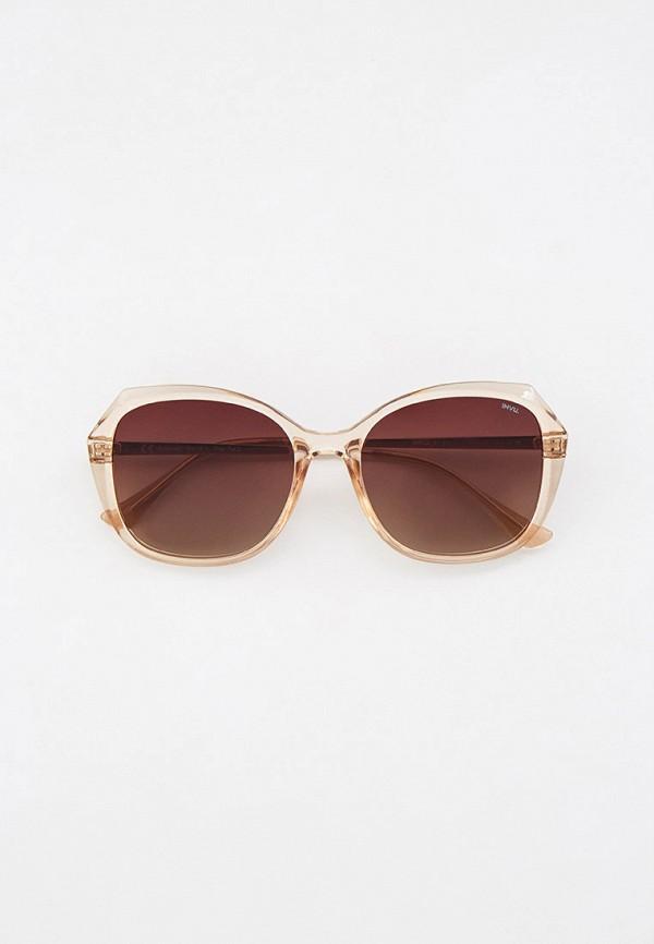 женские солнцезащитные очки invu, бежевые