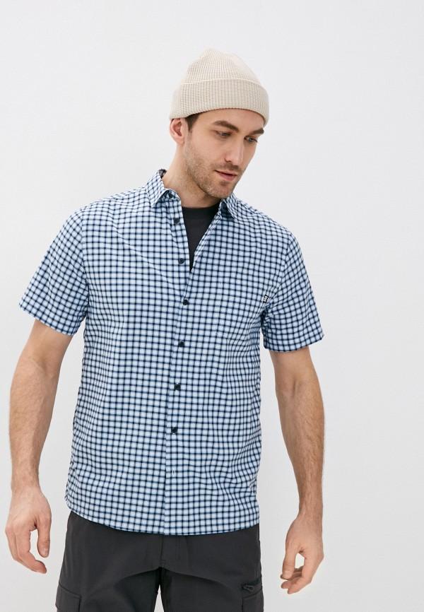 мужская рубашка helly hansen, синяя