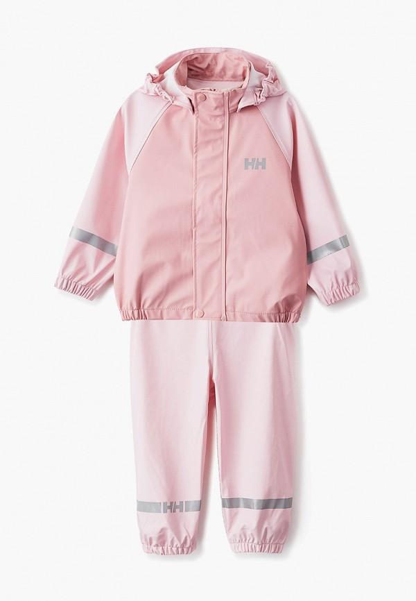 комбинезоны и костюмы helly hansen для девочки, розовые