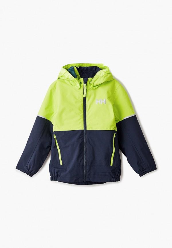 куртка helly hansen для мальчика, зеленая