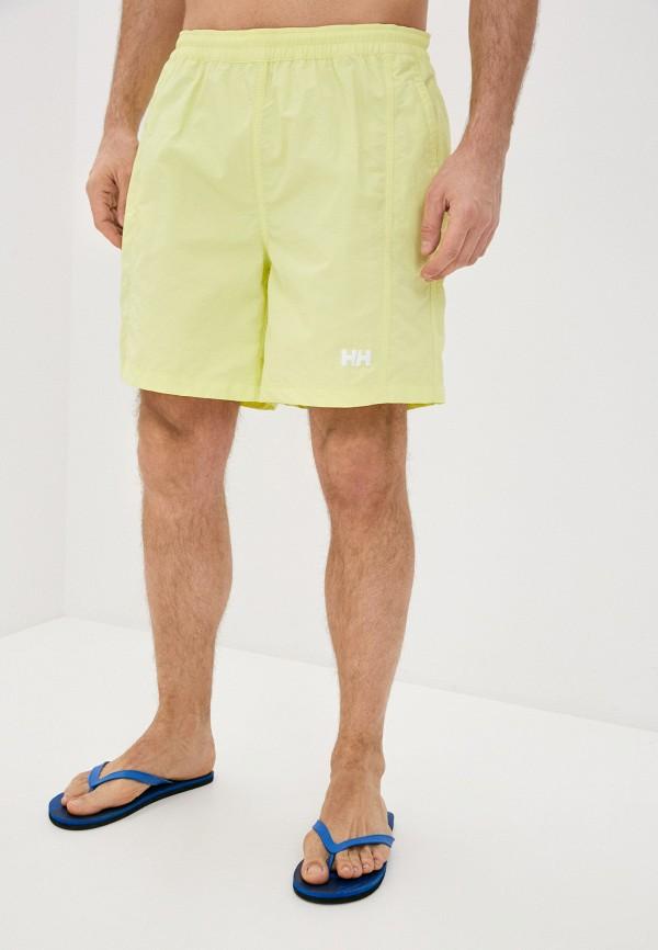 мужские спортивные шорты helly hansen, желтые