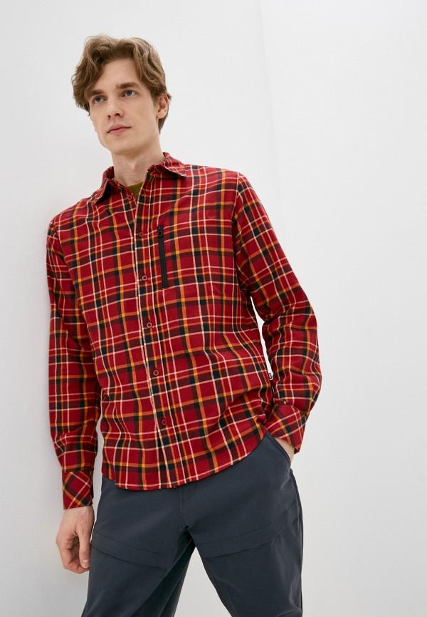 мужская рубашка helly hansen, красная