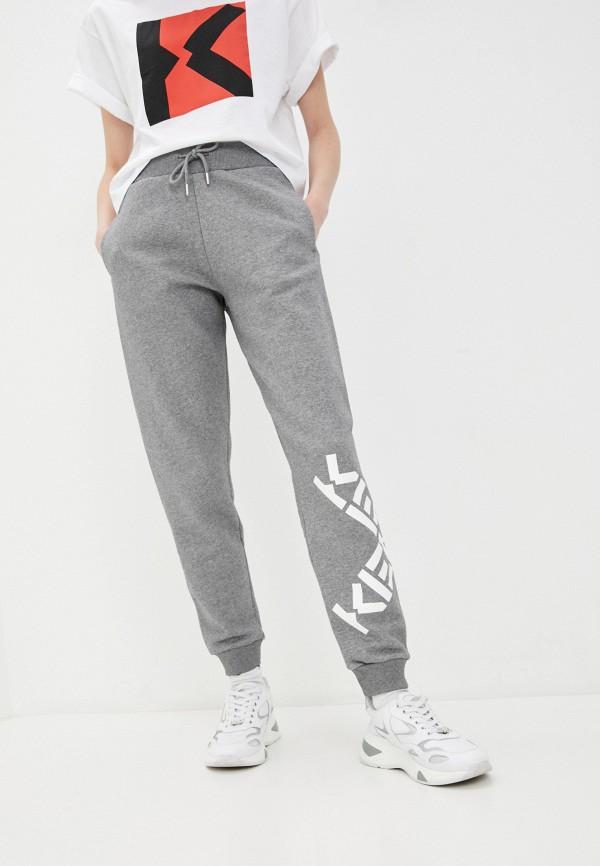 женские спортивные брюки kenzo, серые