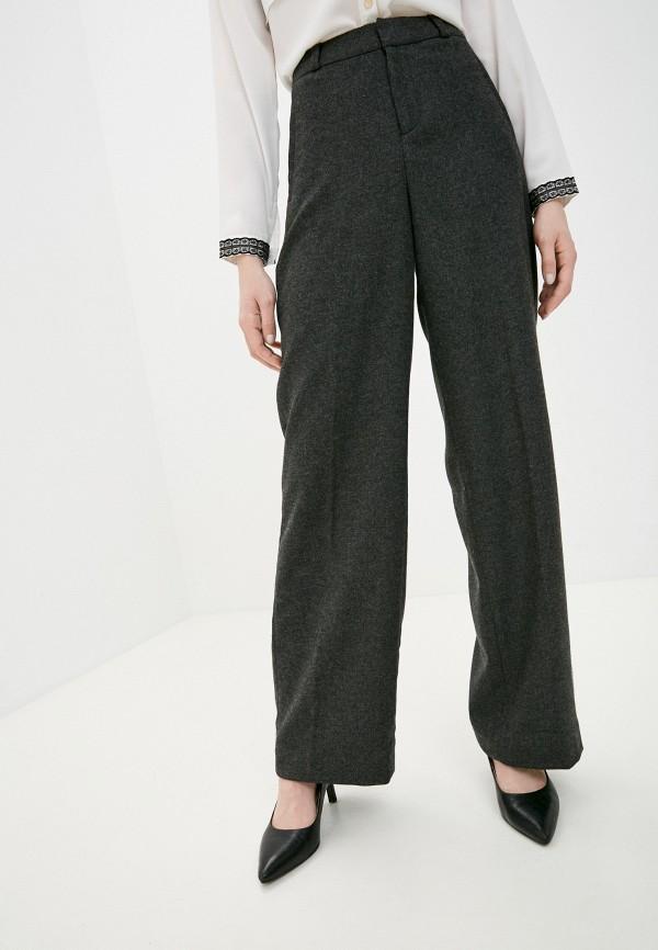 женские классические брюки banana republic, серые