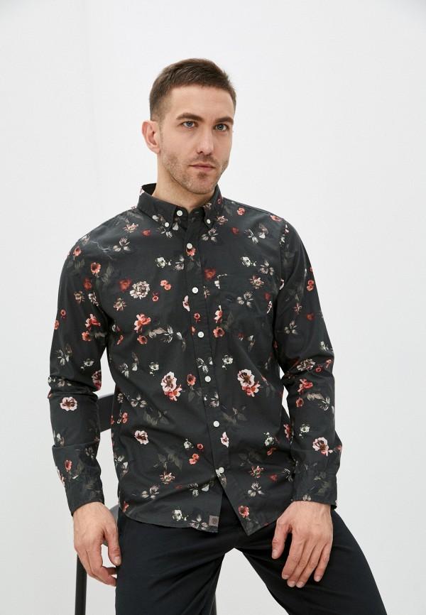 мужская рубашка с длинным рукавом banana republic, хаки