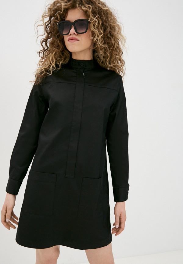 женское платье banana republic, черное
