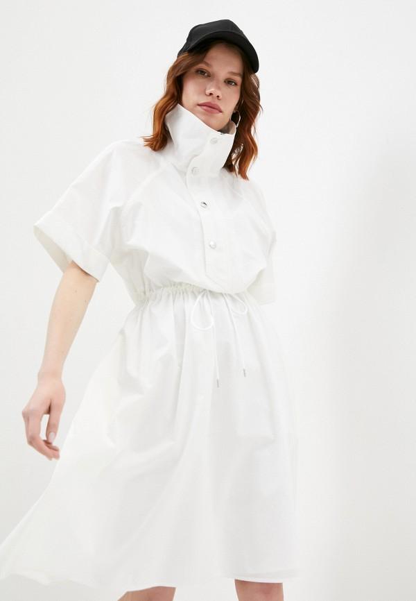 женское платье kenzo, белое