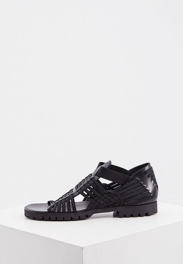 женские сандалии kenzo, черные