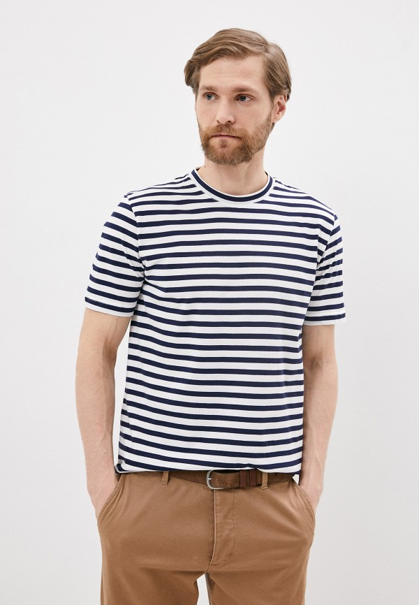 мужская футболка eleventy, синяя