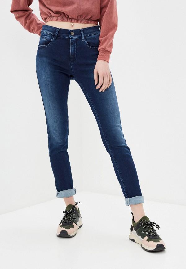 женские джинсы скинни met, синие