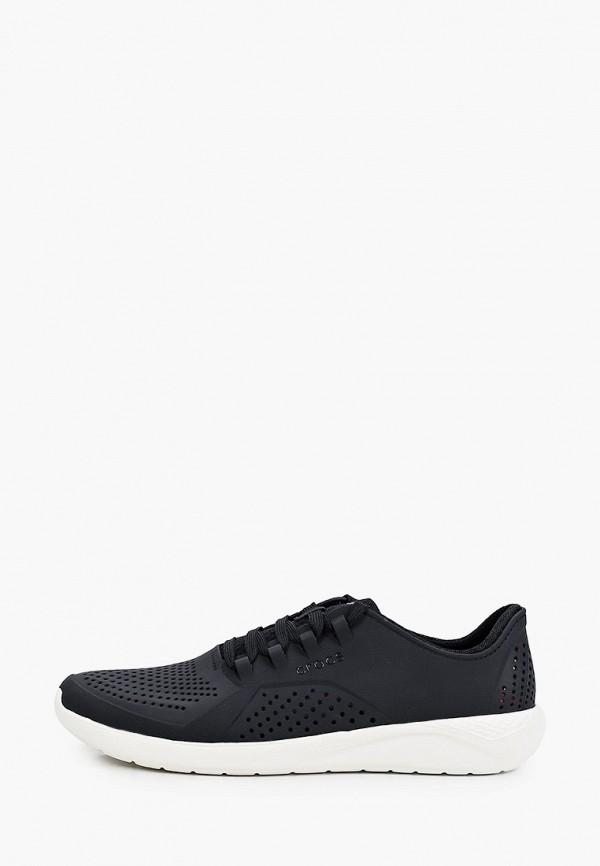 мужские низкие кроссовки crocs, черные