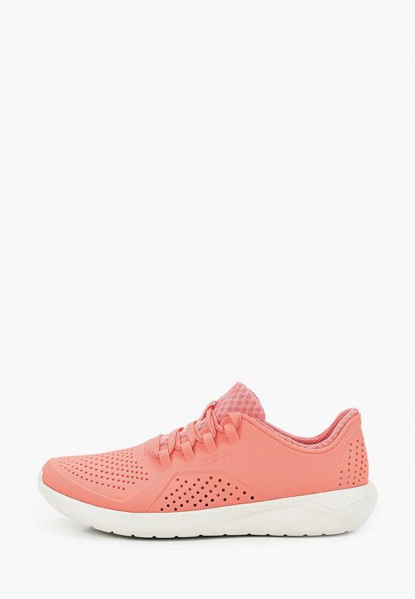 женские низкие кроссовки crocs
