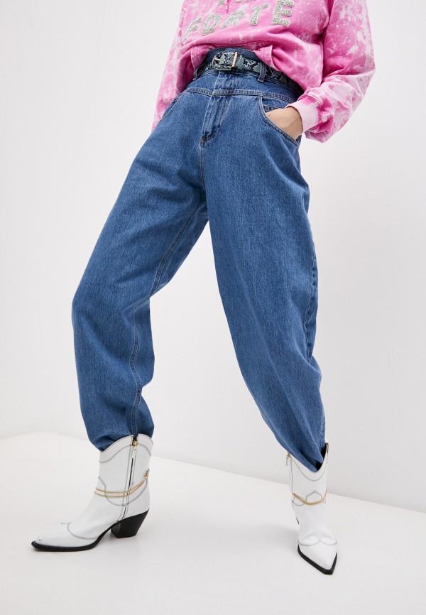 женские прямые джинсы forte dei marmi couture, синие