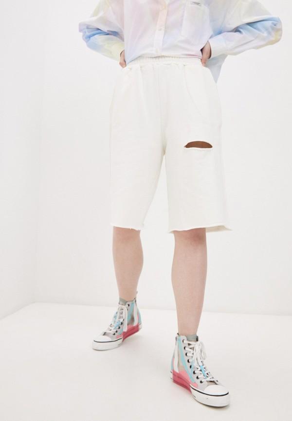 женские спортивные шорты forte dei marmi couture, белые