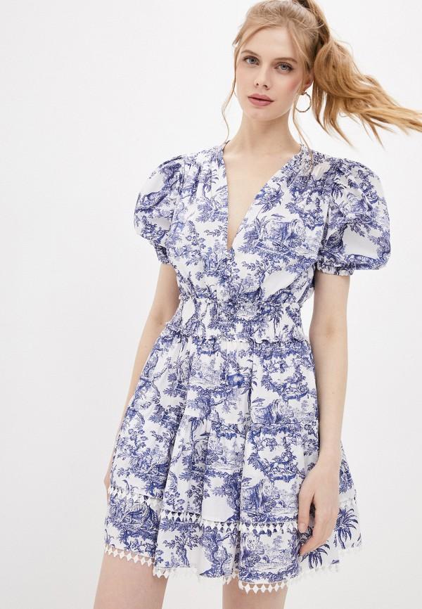 женское повседневные платье forte dei marmi couture, белое