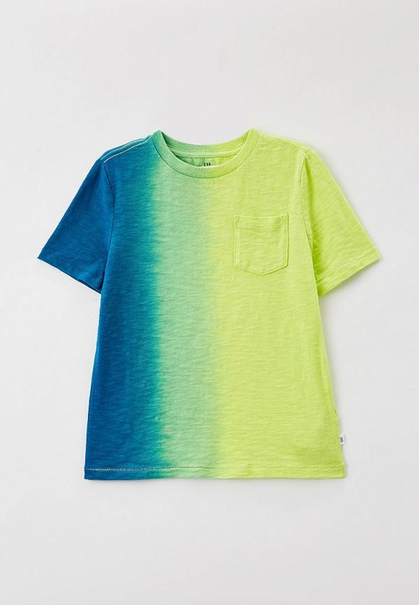 футболка с коротким рукавом gap для мальчика, разноцветная