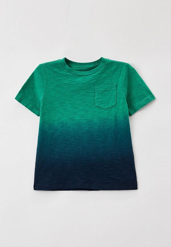 футболка с коротким рукавом gap для мальчика, зеленая