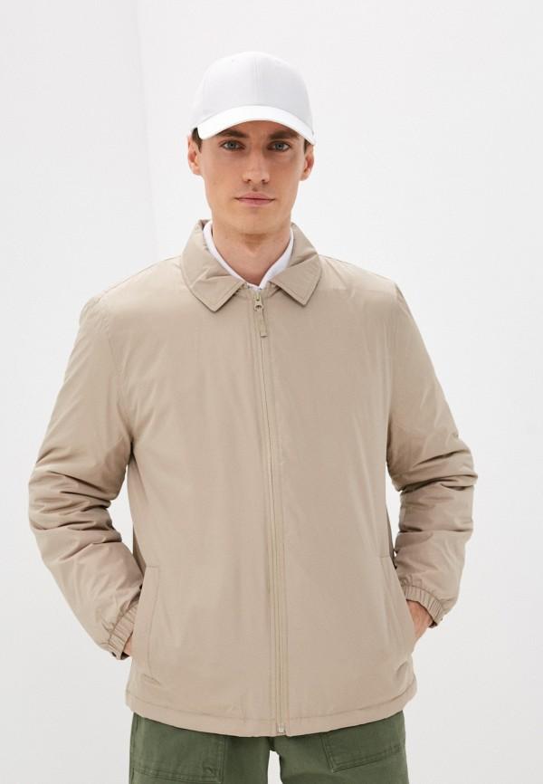 мужская куртка gap, бежевая