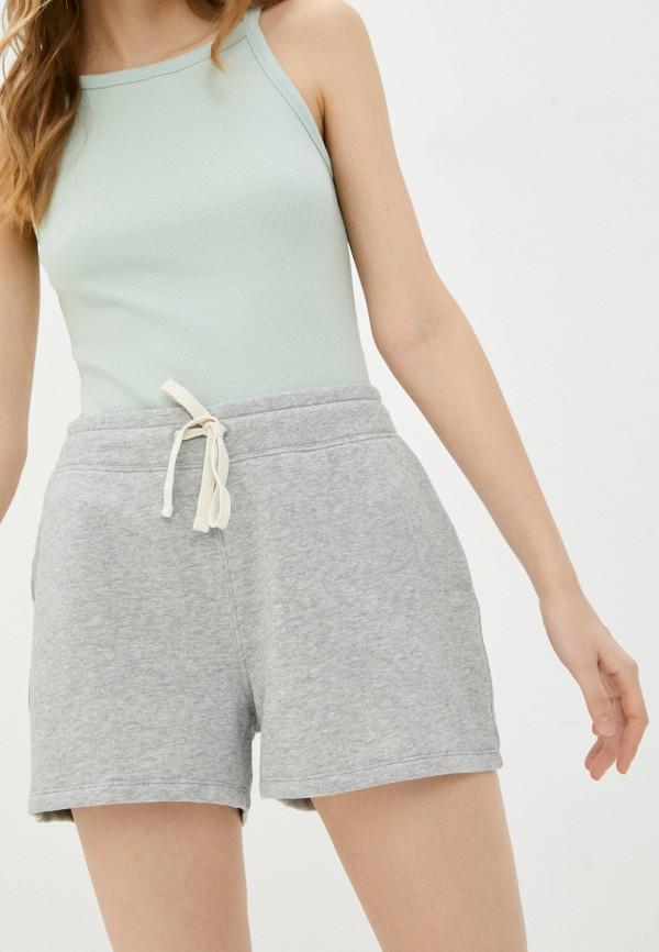 женские спортивные шорты gap, серые
