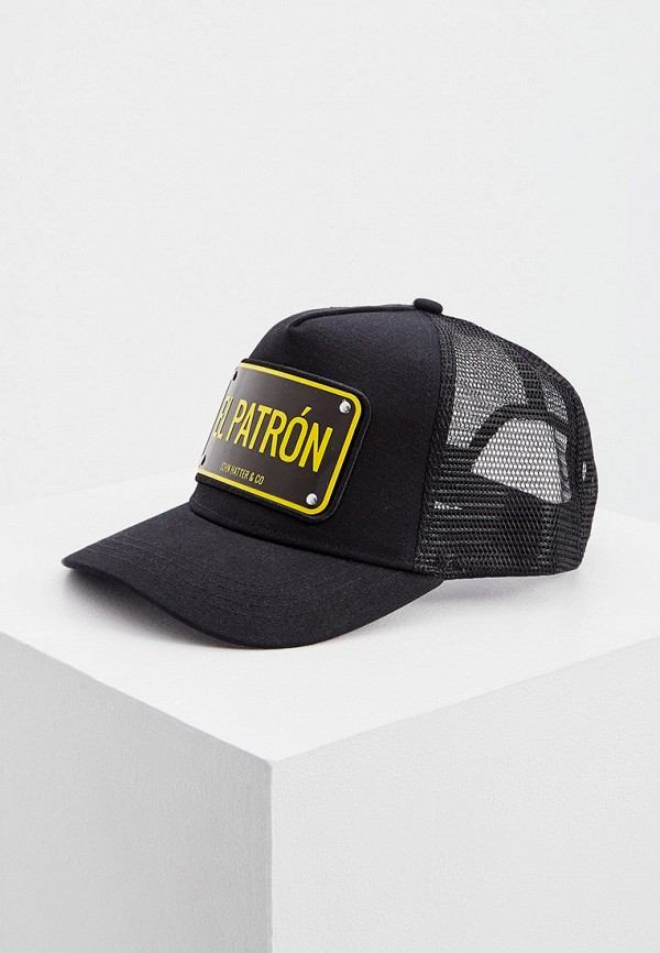 мужская бейсболка john hatter & co, черная