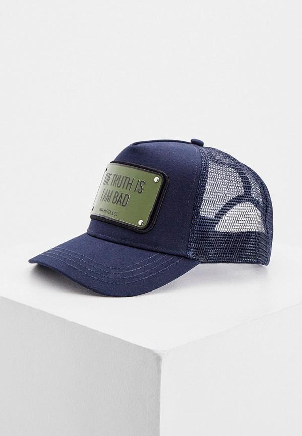 мужская бейсболка john hatter & co, синяя