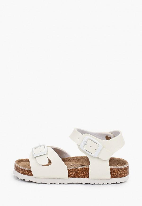 сандалии beppi для девочки, белые
