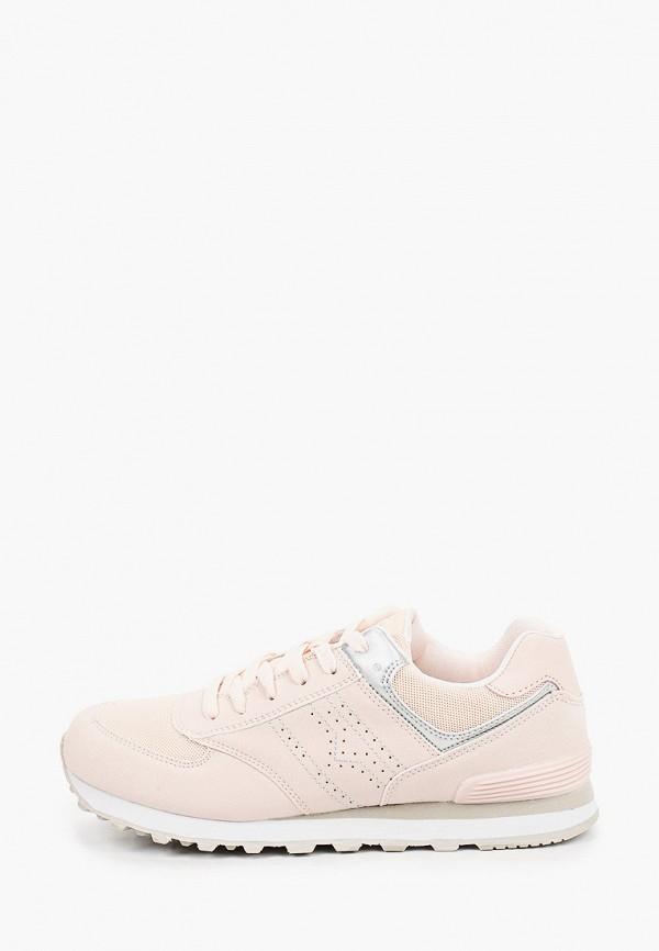 женские низкие кроссовки beppi, розовые