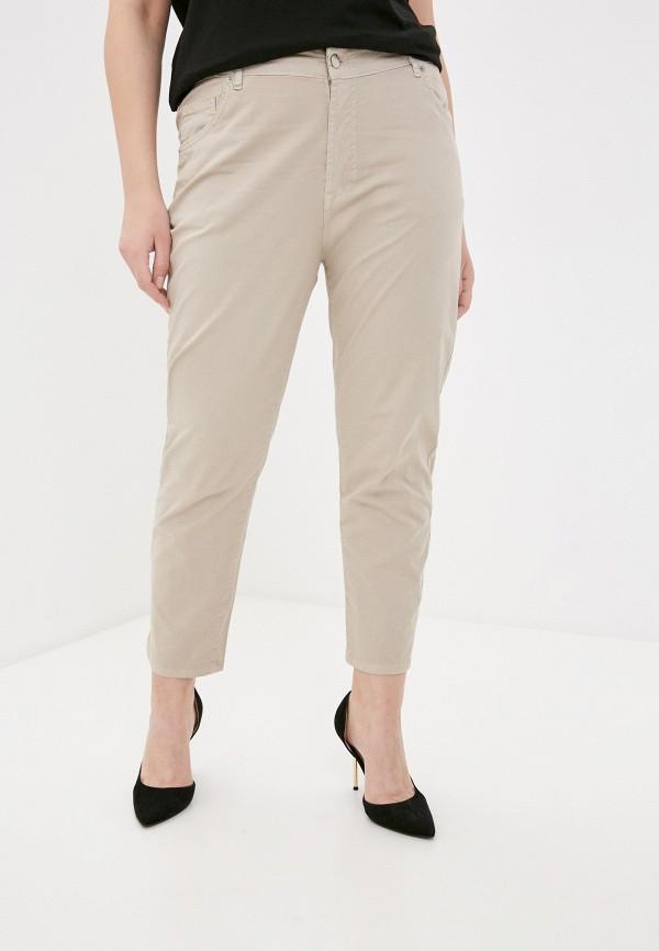 женские зауженные брюки sophia, бежевые